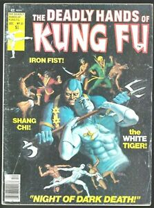 THE DEADLY HANDS OF KUNG FU # 31 WHITE TIGER MARVEL MAGAZINE SHANG CHI MASTER