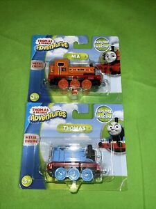 Thomas & Friends Adventures Thomas & Mia Metal Toy trains Bundle New Sealed