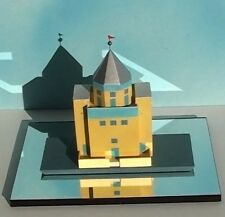 Aldo Rossi Teatro del Mondo sc 1:200 architecture model miniature made in Italy