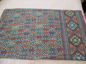 2 Fieldcrest Indian/Abstract Design Standard Pillowcases