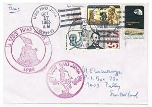 US Naval Ship Covers - Various with Ships Postmarks