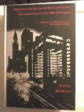 Mechanical & Electrical Equipment for Buildings William McGuinness 1971 HC