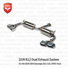 Dual Exhaust System for 2016  2017 2018 2019 KIA Sportage (QL) 2.0L (FWD Only)