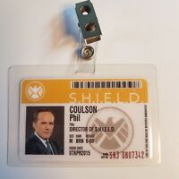 Agents Of Shield ID Badge - Director Phil Coulson cosplay prop costume