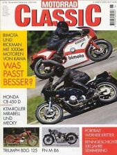MC9906 + FN M 86 + KTM-Roller Mirabell und Mecky + MOTORRAD CLASSIC 6 1999