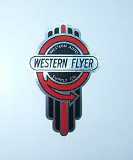 Western Flyer bicycle badge decal