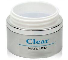 "Costruzione Profi-Gel UV chiaro, molto spessa. ""NAIL 1eu Clear"" 110ml/nagelgel, Builder-GEL"