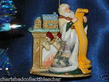 Thomas Kinkade Spirit of Good Wish Porcelain Ornament