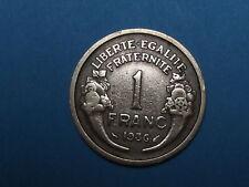 piece de monnaie 1 franc 1936