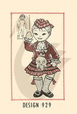 Reproducción Vintage Highland Escocesa Niño Muñeca patrón de costura