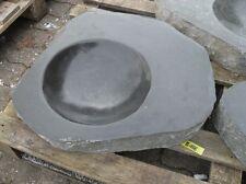 Becken aus poliertem Granit - Granittrog Vogeltränke Bachlauf Waschbecken - B106