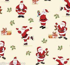 Makower Christmas Santa Patchworkstoffe Stoffe Weihnachten Weihnachtsstoffe Deko