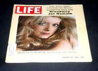 LIFE MAGAZINE JANUARY 24 1969 CATHERINE DENEVUE