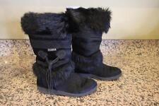 TECNICA COW HAIR BLACK BOOTS size 35 (BOTA600