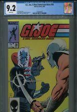 GI Joe 38 CGC 9.2 Marvel Destro vs Storm Shadow New Holder Mike Zeck Cover