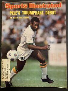 "Sports Illustrated Magazine June 23 1975 "" Pele's Triumphant Debut"""