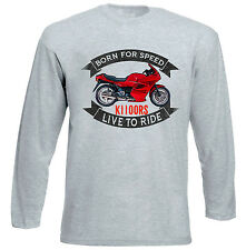 BMW K1100RS - GREY LONG SLEEVED TSHIRT- ALL SIZES IN STOCK
