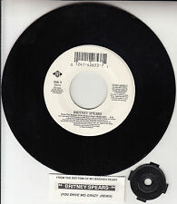 """BRITNEY SPEARS  From The Bottom Of My Broken Heart 7"""" 45 rpm vinyl record RARE!"""