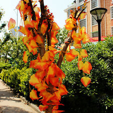 8.2ft Artificial Silk Flower Ivy Vine Maple Leaf Garland Plant Autumn Decor Hot