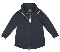 Prana Womens Black Horizon Anorak Coat Sz M H2423