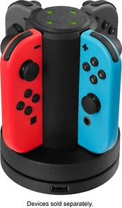 Insignia™ - Joy-Con Charging Station for Nintendo Switch - Black
