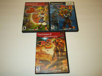 Jak 1,2 and 3  For Ps2  Very Good  Condtion with  No Manual Free Shipping