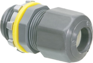 Arlington LPCG50 Strain Relief Electrical Cord Connector, 1/2-Inch, 100-Pack