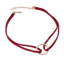 Women Bronze Collar Vintage Handmade Velvet Goth Choker Necklace For Women Lady