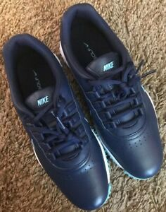 Nike Air Zoom Rival 5 Navy Sky Blue 878957 - 400 Soft Spike Cleats Golf Shoes