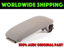 Audi A3 8P Center Console Armrest Lid Platinum Light Grey GENUINE 8P0864245D7BM