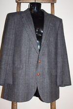 Vintage~Wm F FARAH~WFF~Gray TWEED~Sport Coat~BLAZER~Jacket~WOOL~Size 44 L~USA!
