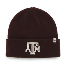NCAA Texas A&M Aggies Embroidered Raised Cuff Knit Hat by '47