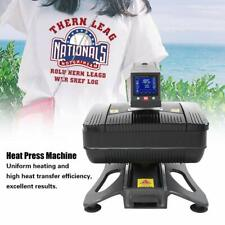 Auto Open Pneumatic 3D Sublimation / Heat Press MachineT shirts Phone Case +Gift
