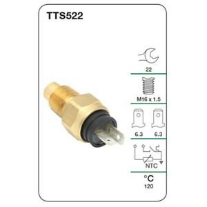 Tridon Water Temp Switch (Warning Light & Gauge) TTS522 fits Alfa Romeo 156 2...
