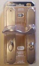 Wright Storm Door Adjustable Mortise Lockset Satin Nickel Plate VMT115SN