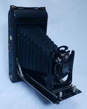 HOUGHTON ENSIGN Antique Folding Bellows Film Camera Anastigmat Lens LONDON