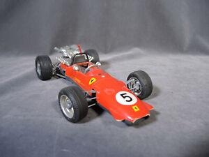 Vintage Schuco 1073  Germany Ferrari Formel 2 Wind Up Tin Toy Race Car