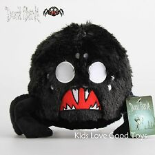 Don't Starve Black Spider Plush Toy Soft Stuffed Animal Doll Collectable 9'' NWT