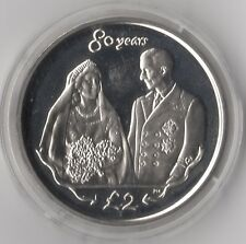 More details for 2006 south georgia & ssi royal wedding proof £2| silver | coins | pennies2pounds