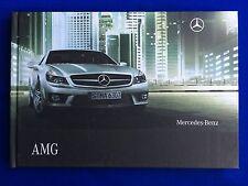 Prospekt Brochure Mercedes C63 E63 S63 S65 CLS63 CL63 CL65 SL63 SL65 G55 AMG 08