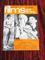 FILMS AND FILMING- UK MOVIE MAGAZINE- JUNE 1971- ITALIAN CINEMA - ALAN BATES