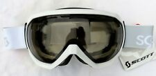 NEW $120 Scott Notice OTG Over The Glasses Gloss White Ski Goggles NL-45 Womens