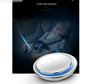 Portable Car Air Purifier Cleaner for Smoke Odor Dust USB Charger NIB