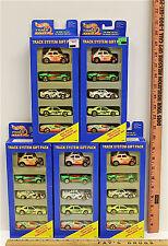 25 Hot Wheels 1995 Race Track System Diecast Cars Gift Packs Mattel #13366  NIB