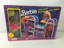 VINTAGE BARBIE JEANS STORE IN ORIGINAL BOX CONTENTS SEALED - MATTEL 1990