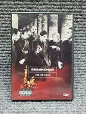 Rammstein DVD Live Aus Berlin DVD Island Def Jam Music 1999