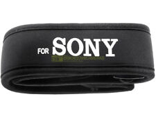 Tracolla larga in neoprene per Sony. NUOVA. Per reflex a pellicola e digitali.