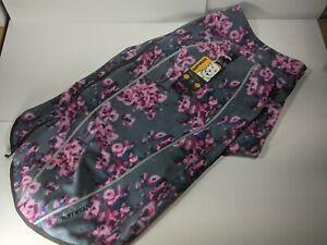 Ruffwear Climate Changer Fleece Dog Jacket Size Medium Bloosom Flowers Cold Wear