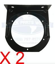 """4"""" INCH ROUND TRAILER TAILLIGHT MOUNTING BRACKETS FOR RUBBER GROMMET & FLANGE"""
