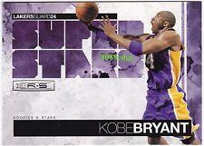 2010-11 ROOKIES & STARS SUPER STARS: KOBE BRYANT #1 LAKERS 4x ALL-STAR GAME MVP